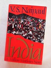 V S Naipaul, India: A thousand mutinies signed rare ticket for event Nobel Prize