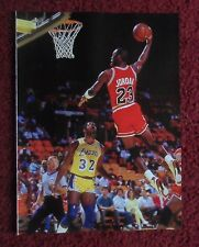 2014 Photo Page Celebrity Magazine Clipping ~ Michael Jordan & Magic Johnson
