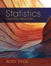 Statistics by Roxy Peck (2014, Hardcover / Mixed Media)