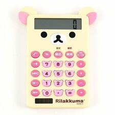 Store Pick-up OK San-X Rilakkuma Die-cut Calculator Korilakkuma
