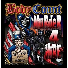 BODY COUNT - Murder 4 Hire CD
