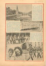 Canals of Amsterdam Netherlands Pays-Bas/Mary of Teck Queen of England 1934