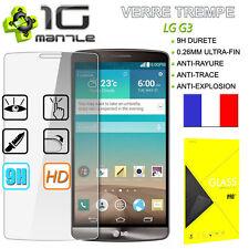 Film Protection/Protege Ecran Vitre/Verre Trempé/Tempered Glass PRO+ 9H LG G3