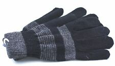 1 Pair Unisex 70% Wool Knit Gloves Full Fingers Winter,Driving for Girls & Boys
