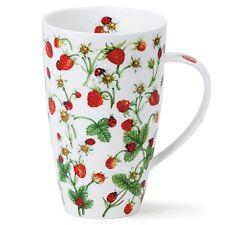 Dunoon Tasse Kaffeebecher Dovedale Strawberry Erdbeeren Henley 0,55 l