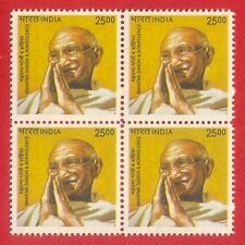 INDIA DEFINITIVE B/4 MAHATMA GANDHI INTL DAY OF NON-VIOLENCE 2009 MNH [A]