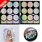 1 Sheet Nail Art Latest Vinyls Easy UseManicure Stencil Stickers Patterns