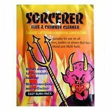 Sorcerer Flue & Chimney Cleaner-for Fires,Boilers,Woodburning,Multi Fuel Stoves