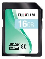 FujiFilm SDHC 16GB Memory Card Class 4 for JVC GZ-MS110