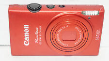 Canon Powershot 110 HS IXUS 125 16MP Digital Camera 110HS - Red  PLEASE READ