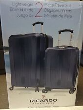 "Ricardo Beverly Hills San Clemente  Luggage 2-piece Hardside Set Set 27"" 21 Navy"