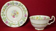ADDERLEY china MEADOWSWEET H198 pattern Cup & Saucer
