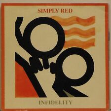 """SIMPLY RED 'INFIDELITY' UK PICTURE SLEEVE 7"""" SINGLE #3"""