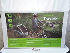 NEW Everyday Traveler Bicycle Bike Jogging Stroller 2-in-1 TRAILER & JOGGER