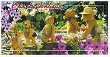 OURSON OURS nounours   carte postale n° 6026/30  Que du bonheur