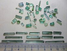 74 cts Excellent Quality Transparent Paraiba Bluish Color Tourmaline Crystals