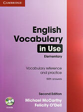 Cambridge ENGLISH VOCABULARY IN USE Elementary w Answers & CD-ROM Second Ed @NEW