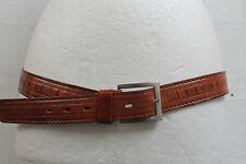 """Vintage de los años noventa Para Hombre De Cuero De Diseñador cinturón APIs Talla M 35 """"a medida Retro"""