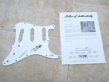 Keith Richards Rolling Stones Autographed Signed Guitar Pickguard PSA Certified