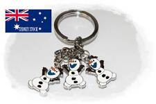 Frozen Olaf Enamel Metal Keyring School Bag Tag Key Holder Party Loot Bag Filler