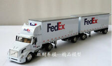 1:64 VOLVO FEDEX Container transport trailer Die Cast Model