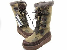 PAJAR, NATIVE BOOT, WOMENS, DARK BROWN, US LEFT 5, 5.5M, RIGHT 6, 6.5M, MISMATCH