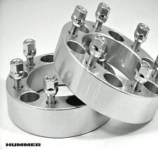 4 Pc HUMMER H3 WHEEL ADAPTER SPACERS FREE LUGS 2.00 Inch # 6550E1215