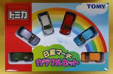Unopened TOMY JAPAN TOMICA GIFT NISSAN MARCH Colorful SET FREE Shipping