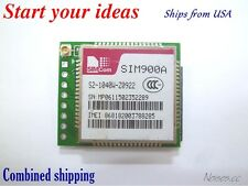 Talk SMS SIM900A GSM GPRS wireless data transmission passthrough minimum module