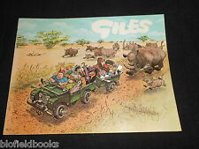 GILES ANNUAL 22: 22nd Series  Political & Satirical Cartoons, Published 1968-1st