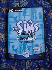 Los Sims Animales a Raudales - PC - Disco de expansión - Completo - Buen estado