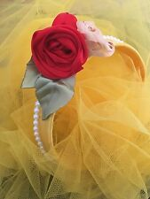 Belle , Beauty And The Beast Inspired Head Band.fancy Dress