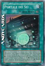 M/NM ☻ Portale dei Sei ☻ Super Rara ☻ SOVR IT089 ☻ YUGIOH ANDYCARDS