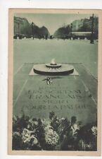 Paris Tombeau du Soldat Inconnu 1929 Postcard France 621a