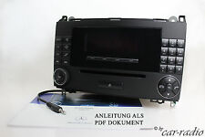 Vito w639 RADIO AUDIO 20 CD mf2750 Viano ORIGINALI MERCEDES Autoradio mp3 Aux-in