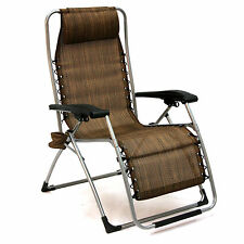 XL Anti-Gravity Lounge Chair-Heavy Duty, Folds Flat, Multi-Position Recline