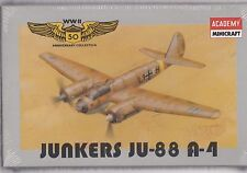 1992 ACADEMY JUNKERS JU-88A-4  1:144 Scale
