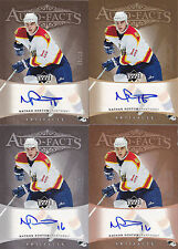 05-06 Artifacts Nathan Horton /100 Auto Auto-Facts Panthers 2005