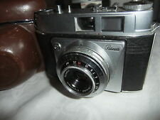 Range finder camera KODAK RETINETTE, reomar 1:3,5/45mm lens + leather case  ..44