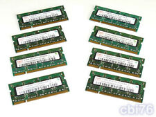 lot 8 mémoire SODIMM 512MO HYNIX (8X512MO) DDR2 PC2-4200 533MHZ 200PIN