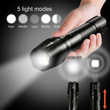 G700 X800 XML T6 LED Flashlight 5000LM Torch  Lamp High Power LED Police Army UK