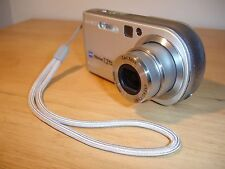 Sony Cyber-shot DSC-P200 7.2MP Digital Camera - Silver + Battery Charger