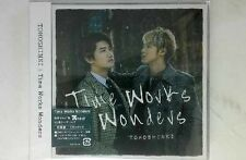 TVXQ DBSK TOHOSHINKI Time Works Wonders First Press CD+DVD w/photocard [Promo]