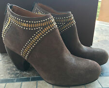 NIB/NEW Calleen Cordero/Bandolier Boots/Booties/Shoes Suede Brown 10 retail $568