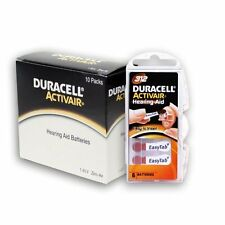 Duracell Activair Hearing Aid Batteries Size 312 (180)