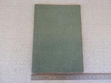 UNICO: MANUALE USO MANUTENZIONE ORIGINALE LANCIA THETA 35 HP 1915 1916