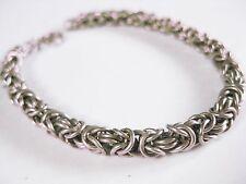 Königsketten Armband Silber 835, 17,8 cm