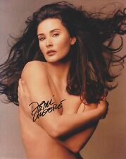 SEXY DEMI MOORE SIGNED 8X10 MOVIE PHOTO REPRINT *TOPPLESS* FREE S&H