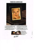 PUBLICITE  1978   PIER  AUGE cosmétiques ligne prestige