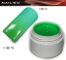 UV Thermogel 07 Hellgrün - oxid türkis 5ml/ Nagelgel Colorgel Thermo-Gel Farbgel